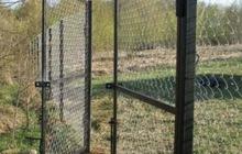 Ворота садовые, каркас есть отдельно