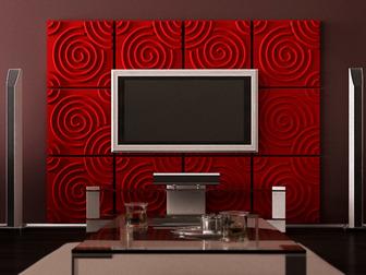 Свежее фото  3D стеновые панели, 3D панно, 3D блоки от фабрики отделочных материалов TRIMIC 37215409 в Москве