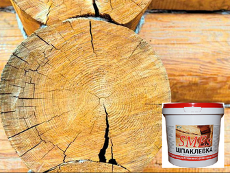 Уникальное фотографию Ремонт, отделка Шпаклевка для деревянных поверхностей SMEs 69177574 в Владимире