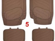 Коврики в салон, ПВХ, оригинальный дизайн iSky Roadster к-т 4 шт, , беж, irod-01