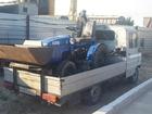 Уникальное foto Экскаватор-погрузчик Миниэкскаватор+ машина для перевозки 33132584 в Волгограде