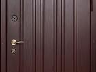 Изображение в Строительство и ремонт Строительные материалы Дверь металлическая, с глазком, отделка – в Волгограде 5360