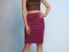 Смотреть foto Женская одежда Юбка-карандаш из эко замши ARTFUR 64988894 в Волгограде