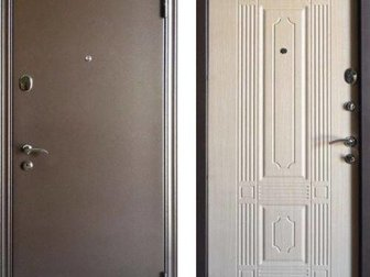 — Коробка двери объединена с широким фигурным наличником (перекрывает зазор 55 мм!), Материал – сталь рулонная холоднокатаная толщиной 1,2 мм,  Коробка не утепленная, в Волгограде