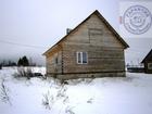 Дом из бруса 99м., с мансардой без отделкив деревне Поповка
