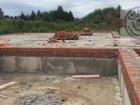 Земельный участок с незавершенным строительством в закрытом