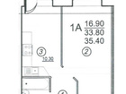 Вы в поиске однокомнатной квартиры в новом, кирпичном доме?