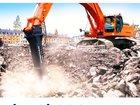 Новое изображение Спецтехника Услуги (аренда) гидромолота на базе гусеничного экскаватора 32735048 в Воронеже