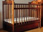 Смотреть фото Мебель для детей Кроватка-маятник Наша Мама 33557146 в Воронеже