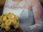 Свежее фотографию Свадебные платья Шикарное свадебное платье б\у белое 33749112 в Воронеже