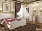 Спальня Мдф Лён белый