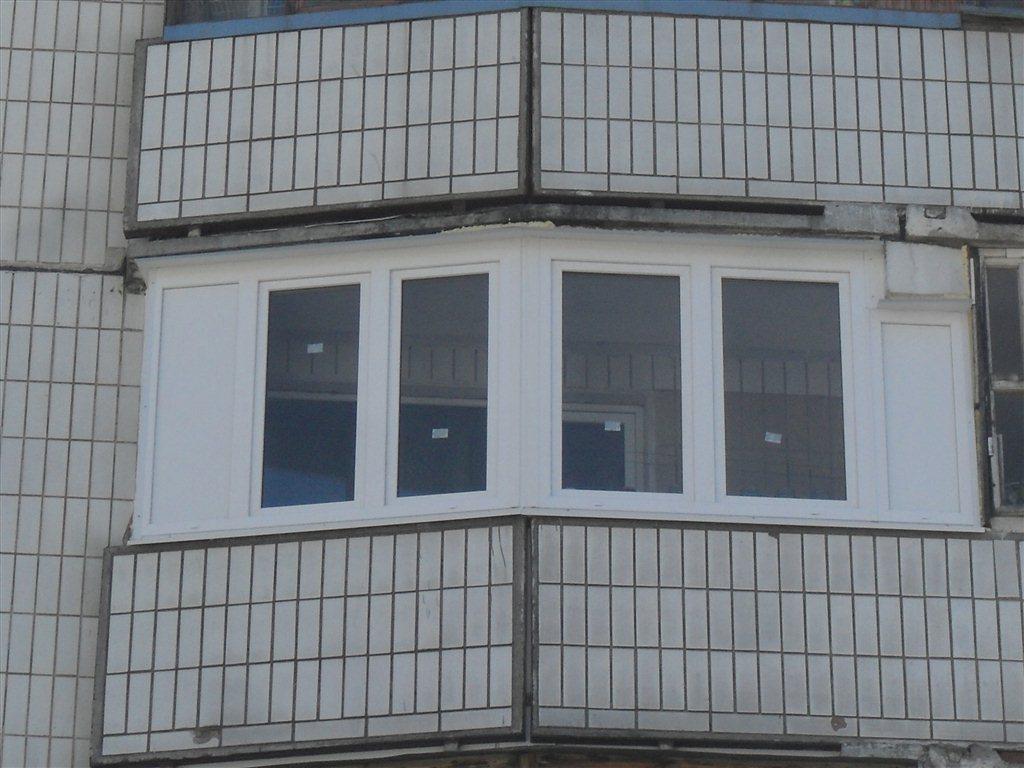 Зеленоград: пластиковое остекление балконов и лоджий под клю.