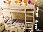 Двухъярусная кровать из массива сосны высшего сорт