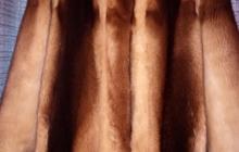 Ннорковая шубка