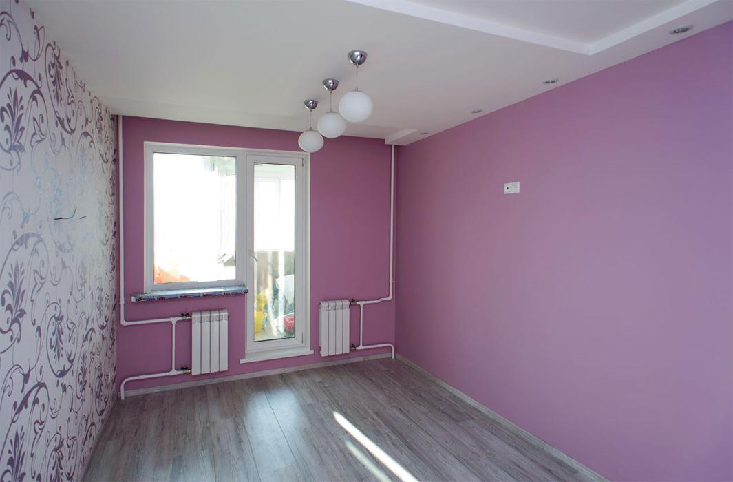Ремонт стен в квартире фото